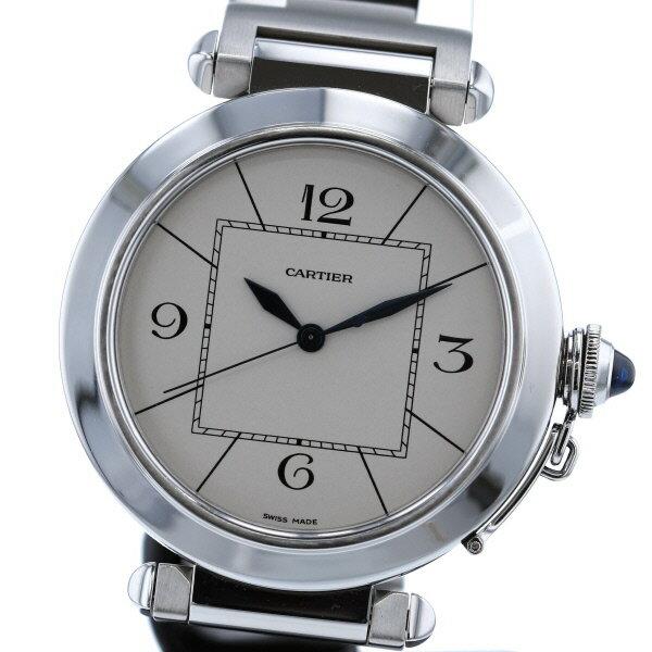 【即日発送】【美品】【中古】 Cartier (カルティエ) パシャ 42 時計 自動巻き/メンズ Pasha/パシャ White/ホワイト W31072M7 used:A