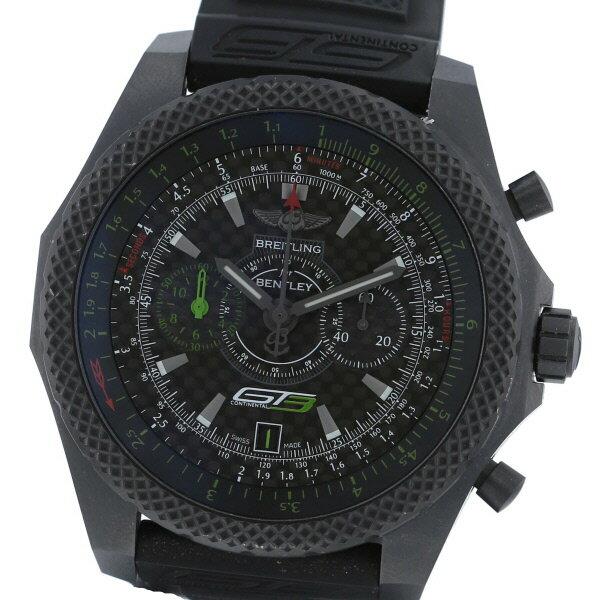 【中古】 BREITLING (ブライトリング) ベントレーGT3 500本限定 時計 自動巻き/メンズ BENTLEY Black V276B14TRV used:B