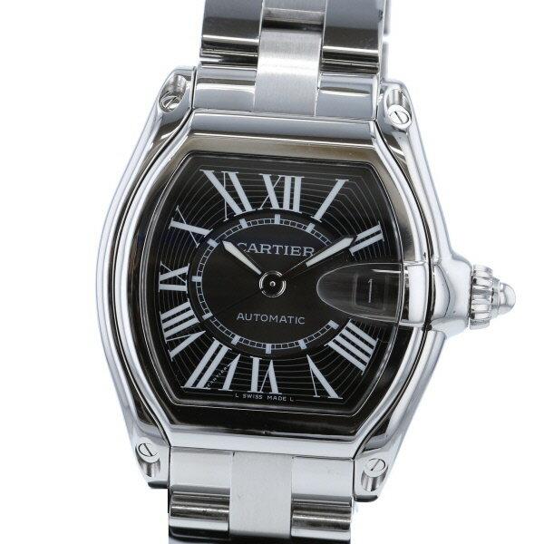 【中古】 Cartier (カルティエ) ロードスター LM 時計 自動巻き/メンズ Black W62041V3 used:A