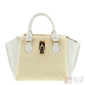 【中古】 Samantha Thavasa (サマンサタバサ) 2WAYハンドバッグ バッグ ハンドバッグ Hand Bag White FREE used:A