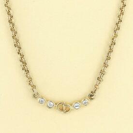 【セール品】【中古】クリスチャンディオール ネックレス ブランドジュエリー ネックレス/ペンダント/チョーカー Christian Dior Necklace Brand Jewelry D22562