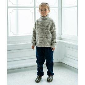 【riziere】メランジェタートルネックセーター 100cm 110cm 120cm 130cm 140cm キッズ 男女兼用 1色