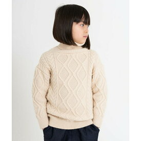 【riziere】フェアアイル柄ニットセーター 120cm 130cm 140cm 150cm 160cm キッズ 男女兼用 1色