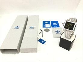 〇〇【中古】アディダス adidas 腕時計 Archive M1 ブラック×シルバー