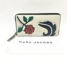 〇〇【中古】MARC JACOBS マークジェイコブス 長財布 レザー マルチカラー M0010190