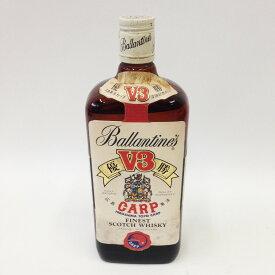 〇〇【中古】Ballantine's バランタイン '80 祝優勝 広島東洋カープ V3 記念ボトル ウイスキー特級 Cランク 未開栓
