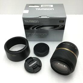☆☆【中古】TAMRON タムロン SP AF 60mm F/2 マクロ Di II ニコン用 交換レンズ G005NII Bランク