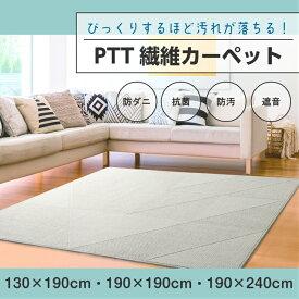 【送料無料】汚れが落ちる PTT繊維 ラグ カーペット インテリア interior おしゃれ 北欧 130×190 ナチュラル