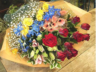 季節の花 50本 期間限定2980円お祝・お見舞い・誕生日に贈る花束ギフトにも・指定日配達対応