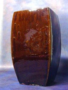 茶色の懸崖盆栽向け陶磁器鉢 2020