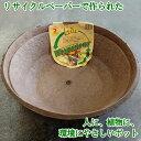 エリン ワンダーポット ボウル型 45cm エコ 植木鉢 リサイクルペ...