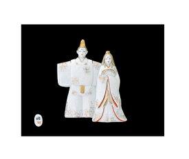 【雛人形/ひな人形】【陶器/置物】【節句】ひな和紙壁掛