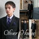 卒業式 スーツ 男の子 ブラックフォーマル 5点セット OLIVER HOUSE オリバーハウス 140cm・150cm・160cm・170cm 子供 フォーマ...
