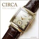 CIRCA サーカ 腕時計 メンズ CT101TL腕時計 レディース 革ベルト 時計 ゴールド アンティーク ビンテージ 誕生日 プレ…