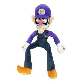 ぬいぐるみ ワルイージ Sサイズ スーパーマリオ マリオ 任天堂 ニンテンドー Nintendo おもちゃ 子供 キッズ 誕生日 プレゼント ギフト 人気 キャラクター グッズ 祝い 男の子 女の子 キッズ 子ども こども 贈り物 癒し 孫 三英貿易