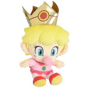 ぬいぐるみ スーパーマリオ ベビィピーチ (S) ALL STAR COLLECTION おもちゃ 子供 キッズ 誕生日 プレゼント ギフト 人気 ゲーム キャラクター グッズ ふわふわ 祝い 女の子 お返し ベビー 子ども こ