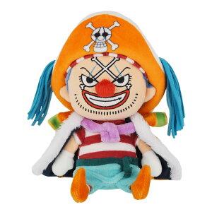 ぬいぐるみ バギー Sサイズ ワンピース ONE PIECE おもちゃ 子供 キッズ 誕生日 プレゼント ギフト ラッピング 人気 アニメ キャラクター 漫画 グッズ 少年ジャンプ 三英貿易 かわいい 祝い 男の