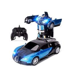 変形 おもちゃ ラジコン ロボット 子供 スポーツカー ドリフト 360度回転 デモモード RCカー ラジコンカー リモコンカー 車 ロボットおもちゃ 子ども こども 贈り物 誕生日 プレゼント ギフト ラッピング 送料無料 オンロード 速い 自動変形 無線操縦