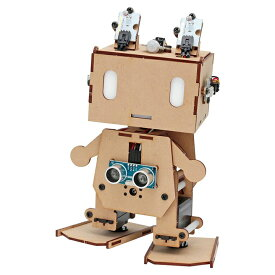 Arduino互換ボード搭載 二足歩行ロボット ピッコロボIoT 自律制御セット [入門キット] 【ヴイストン Vstone】