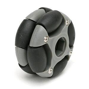 48mmオムニホイール(六角ハブ対応)(14038)[台車・タイヤ] 【NEXUS robot】
