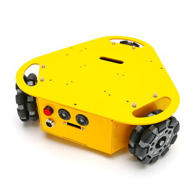 3WDオムニホイールロボット 三角タイプ (10003)[台車ロボット・研究開発] 【NEXUS robot】