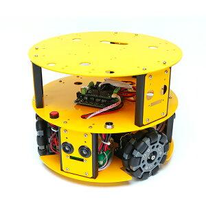 3WD100mmオムニホイールロボット (10013)[台車ロボット・研究開発] 【NEXUS robot】