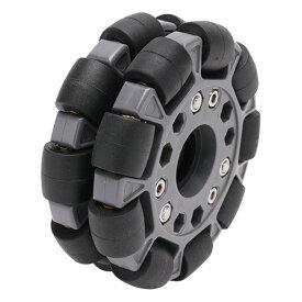 100mmダブルプラスチックオムニホイール(ベーシック) (14049)[台車・タイヤ] 【NEXUS robot】