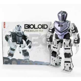 "Q two-legged walking robot ""bioroids premium Kit (BIOLOID Premium Kit)"