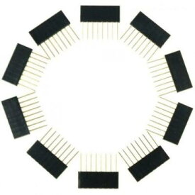 Arduino用 8ピン積み重ね可能なヘッダ(10個入り)