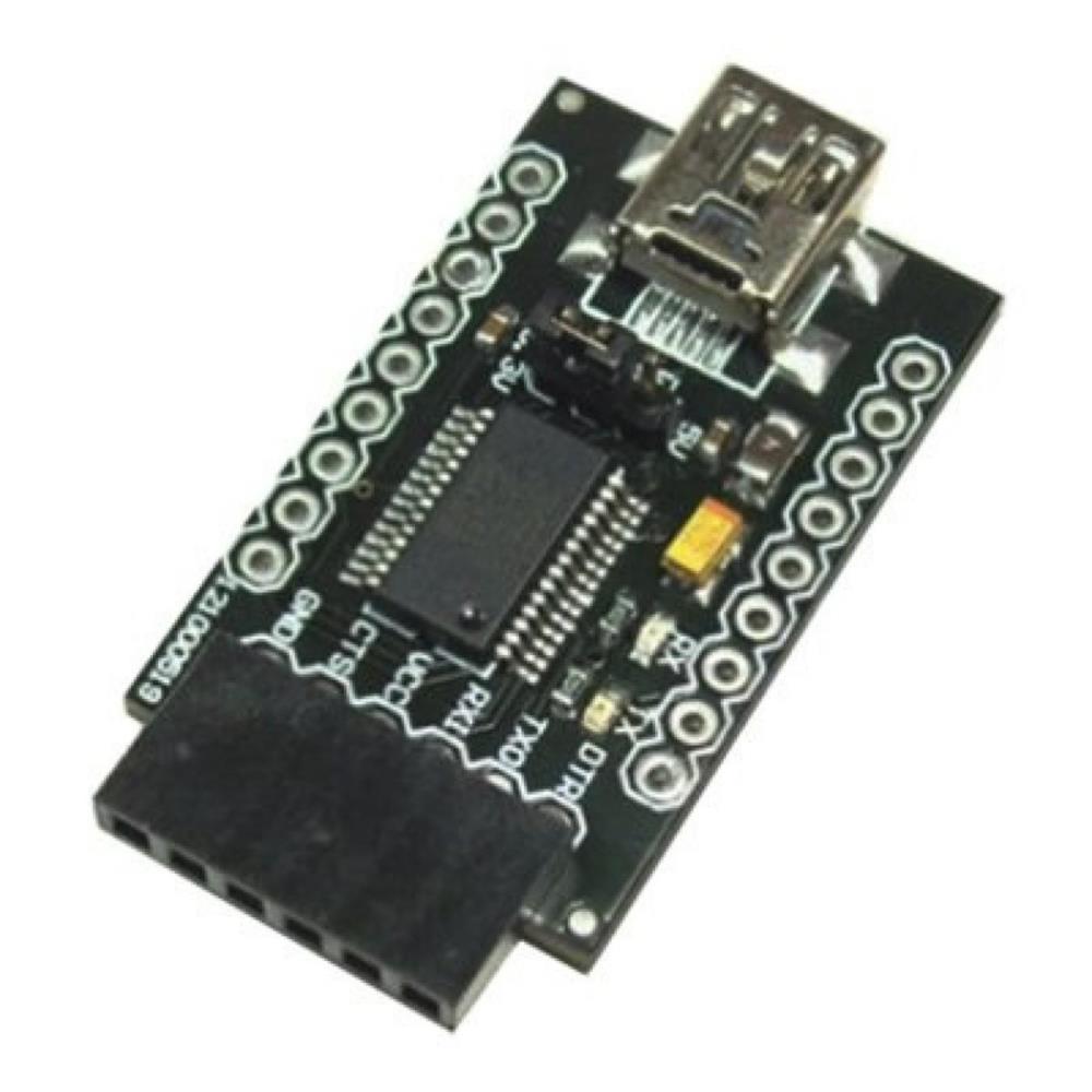 DFRobot FTDI USBシリアル通信変換ベーシックブレイクアウトボード(3.3V / 5V)