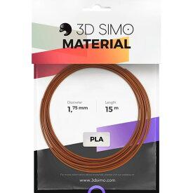 3DsimoプリントペンPLA 1.75mmフィラメントパック(ブラウン/ベージュ/オレンジ)