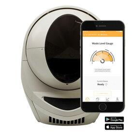 全自動猫トイレ リッターロボット 3 コネクト - ベージュ JP wifi対応 自動ネコトイレ 自動ねこトイレ、18ヶ月保証、修理・サポート完備