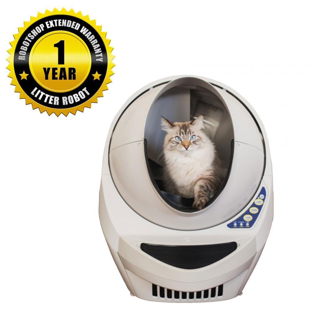 猫用の開放型全自動洗浄トイレ リッターロボット(1年間延長保証付き)