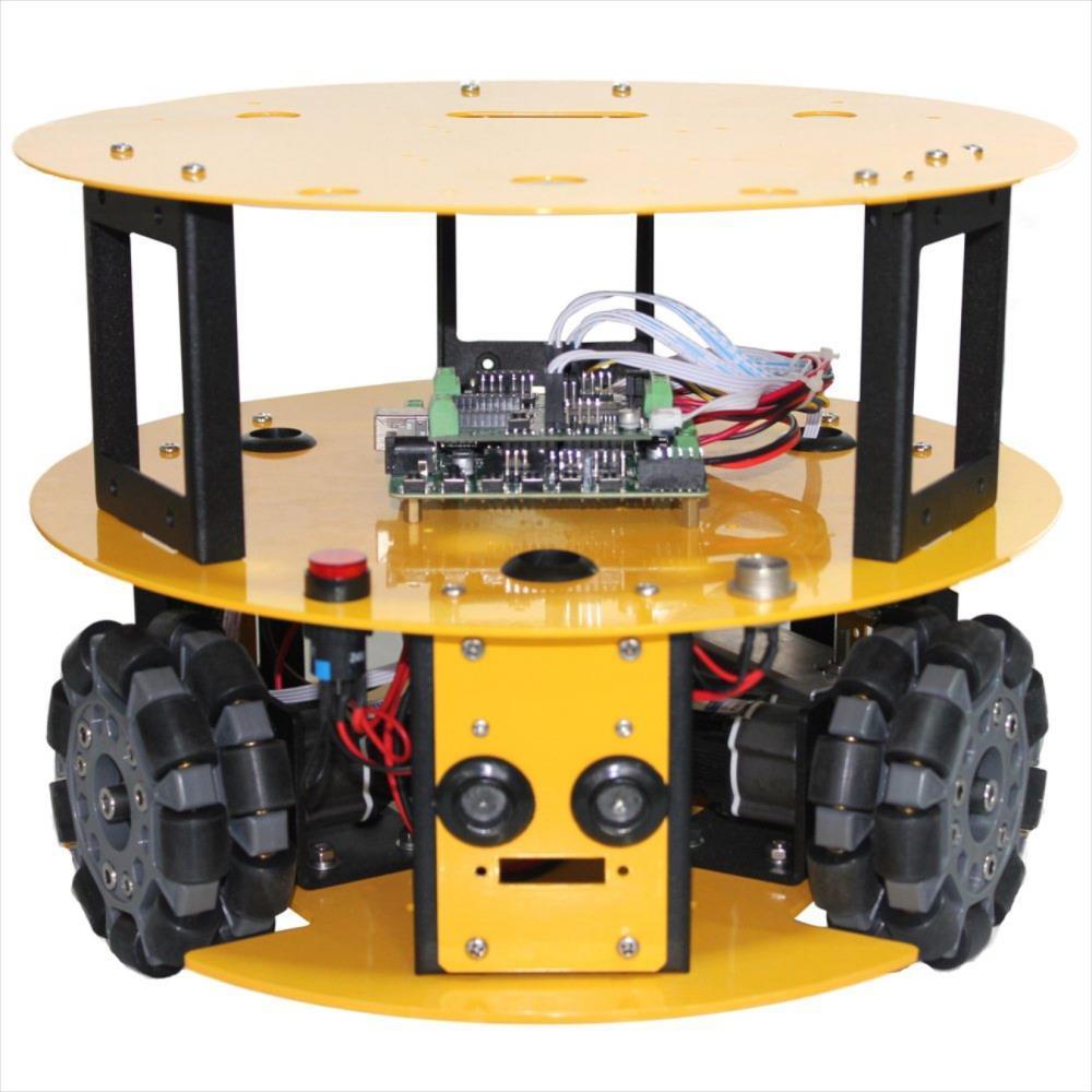 3WDコンパクト全方向Arduino互換性モバイルロボットキット