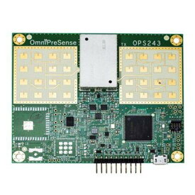 OmniPreSense OPS243-C FMCWおよびドップラ短距離レーダーセンサー