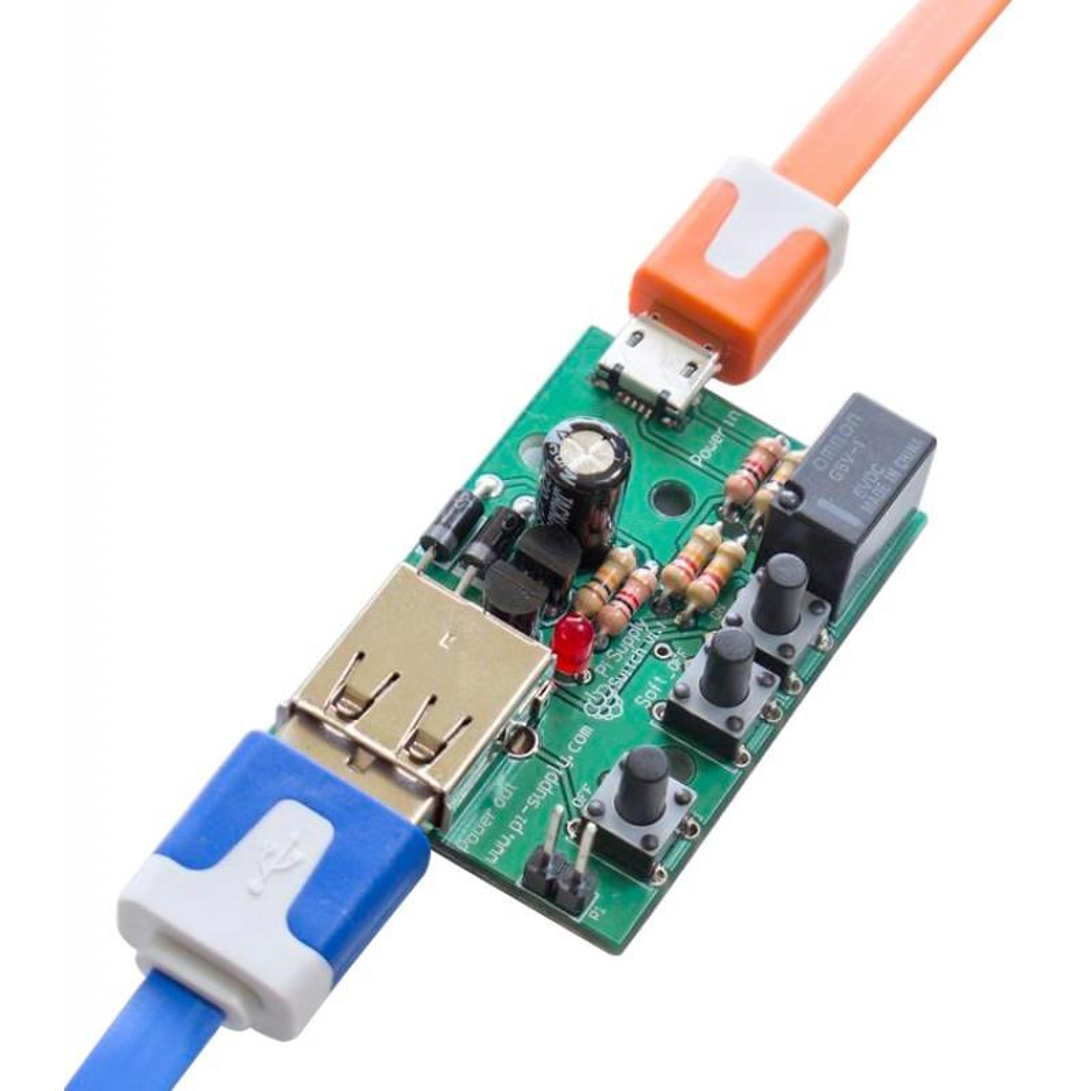 Raspberry Pi対応On/Off電源スイッチ
