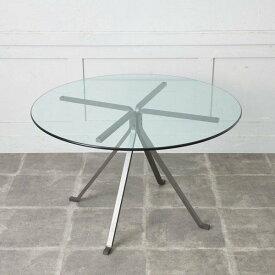 IZ44460C★ドリアデ CUGINO ガラス ラウンド テーブル driade 円形 コーヒーテーブル カフェテーブル ダイニングテーブル イタリア モダン