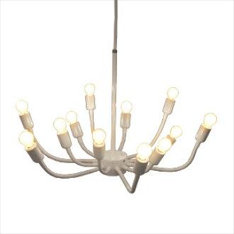 经编经纱吊坠白光 (LED 照明天花板照明生活咖啡厅室内照明灯具照明灯具小玩意复古仿古现代的斯堪的纳维亚天花板轻垂饰灯)