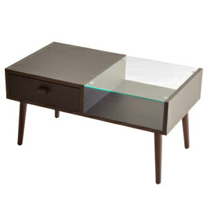 Cafe Table Brown Glass Center Table (showing The Storage Center Table  Living Simple Natural Scandinavian Modern Storage Wood Glass Table Tea)