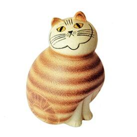 Lisa Larson ポストカード MIA ネコ 茶 LL125猫 neko キャット ねこ 北欧 スウェーデン アンティーク オブジェ 置物 陶器 リサラーション 北欧雑貨 スカンジナビア カフェ 装飾 アニマル リサ ラーソン