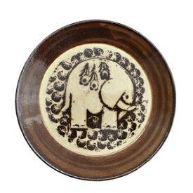 Lisa Larson リサ・ラーソン 益子の皿 ゾウ食器 お皿 リサラーソン ぞう 象 アニマル 動物 プレート 陶器 ヴィンテージ風 北欧 スウェーデン