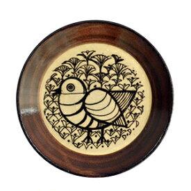 Lisa Larson リサ・ラーソン 益子の皿 とり食器 お皿 リサラーソン アニマル 動物 小鳥 バード bird トリ プレート 陶器 ヴィンテージ風 ビンテージ 北欧 スウェーデン うつわ 日本製 ましこ 益子焼