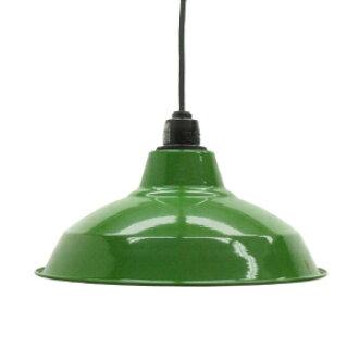 Retro enamel lamp 12-inch green (LED enamel enamel enamel porcelain enamel ceiling lighting Cafe Nordic sealing ceiling light interior lighting living dining Cafe lighting )