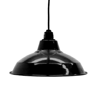 Retro enamel lamp 12-inch black (LED enamel, enamel, and better lighting would, enameled and lighting, ceiling lighting, Cafe and Nordic and sealing ceiling light interior lighting, living dining Cafe )