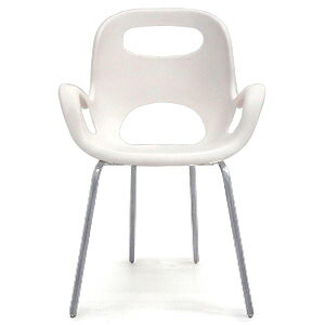 Umbra (Ambra) ♢ Cafe Furniture Karim Rashid OH CHAIR St. White Translucent  Ocean + Designer Furniture