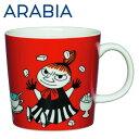 Arabia アラビア ムーミン マグ リトルミィ レッド Little My Red 300ml マグカップ