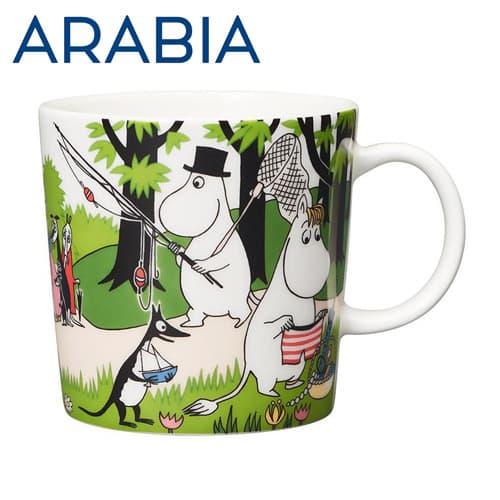 Arabia アラビア ムーミン マグ バカンスへ行こう Going on vacation 300ml マグカップ 2018年夏季限定