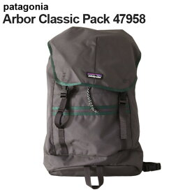 Patagonia パタゴニア 47958 アーバークラシックパック 25L フォージグレー Arbor Classic Pack