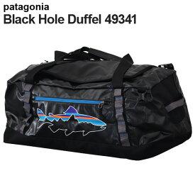 Patagonia パタゴニア 49341 ブラックホールダッフル 60L ブラック/フィッツトラウト Black Hole Duffel