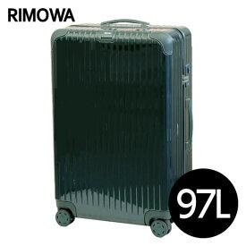 リモワ RIMOWA ボサノバ 97L ジェットグリーン/グリーン BOSSA NOVA マルチホイール スーツケース 870.73.40.4
